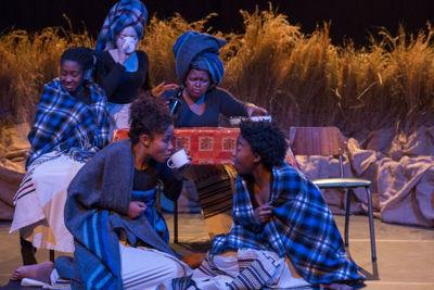 Nyanga, Student Theatre. Image credit CuePix: Madeleine Chaput, National Arts Festival 2016