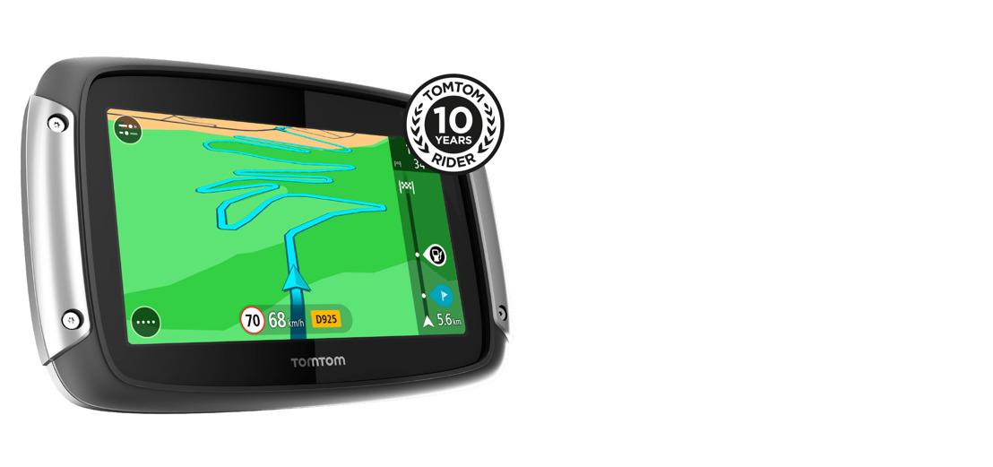 TomTom RIDER 410 'Great Rides Edition' nu beschikbaar in België