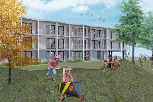 Wachtebeke krijgt er 20 sociale woningen en acht studio's voor zorgbehoevenden bij