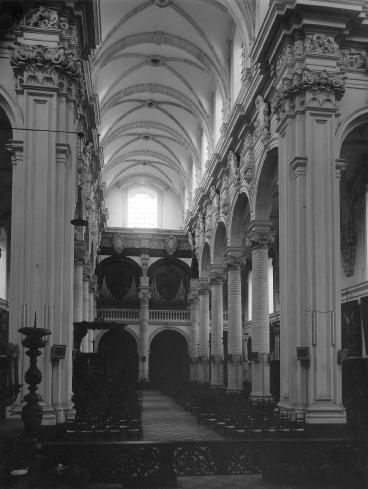 doksaal Sint-Michielskerk - situatie voor start verbouwing