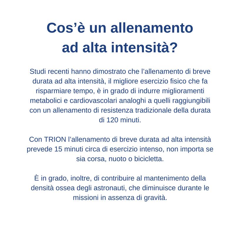 Cos'è un allenamento ad alta intensità?