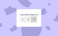 Newsroom settings: Layout block alignment