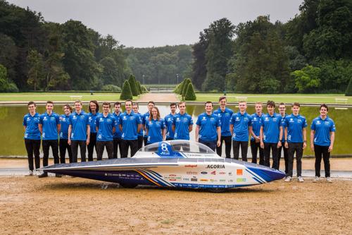Agoria Solar Team onthult unieke Belgische zonnewagen