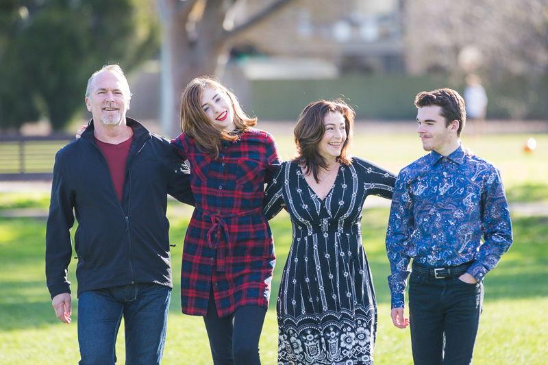 Georgie Stone & family (photo credit: Jackie Cohen)