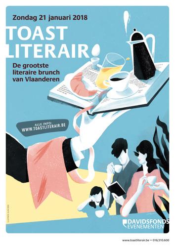Ontbijt samen met Bart Moeyaert en Annemie Struyf tijdens Toast Literair