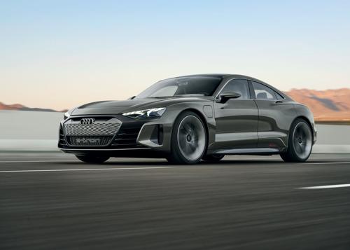 Nieuwe ster in de filmhoofdstad: de Audi e-tron GT concept