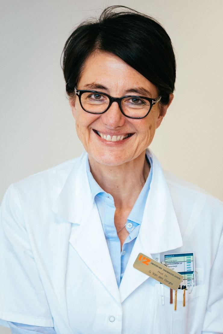 prof. dr. Greet Van den Berghe - copyright UZ Leuven
