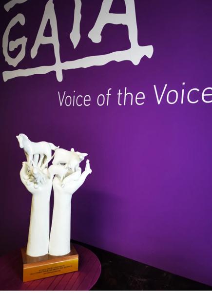 Preview: PRESS RELEASE // Brigitte Bardot receives the GAIA Lifetime Achievement Award