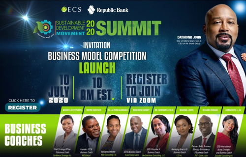 OECS Announces Launch of the SDM Business Model Competition