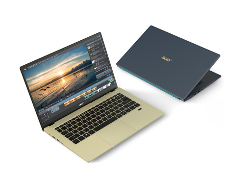 Acer Announces Latest Lineup of Consumer Notebooks Across Swift, Spin and Aspire Series