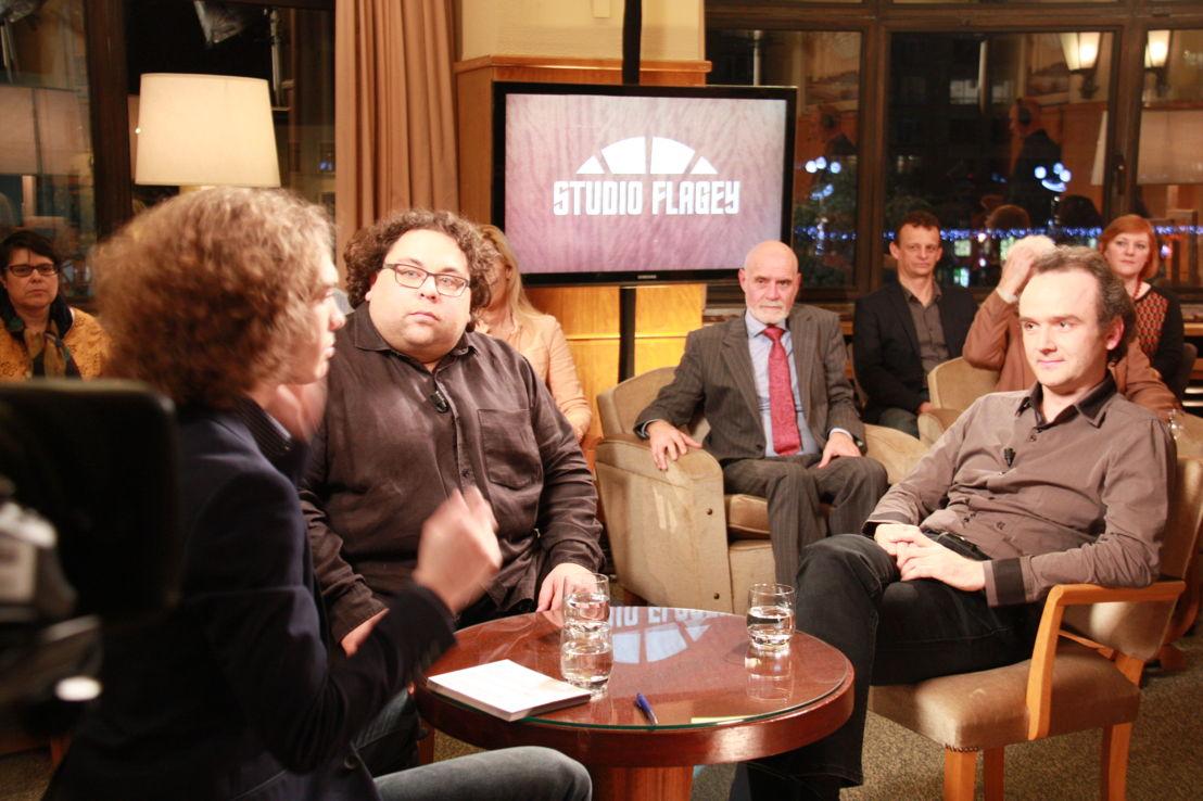 Julien Libeer, Gaetan La Mela en Benjamin Dieltjens - (c) VRT