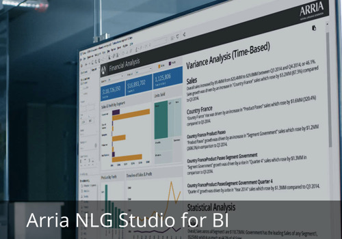 Arria NLG Answers Demand for Data Analytics that Deliver Actionable Insights, Adds Two Industry Leaders