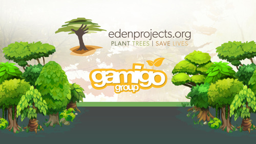 Reforestation: Reloaded - gamigo and Eden Reforestation Projects join together again this Christmas!