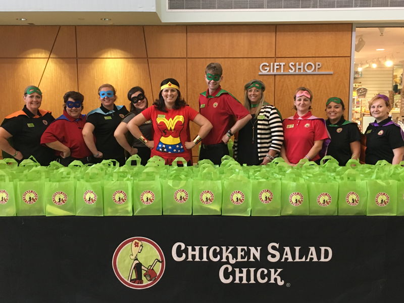 2017 Campaign Event Kick-Off (photo credit Chicken Salad Chick)