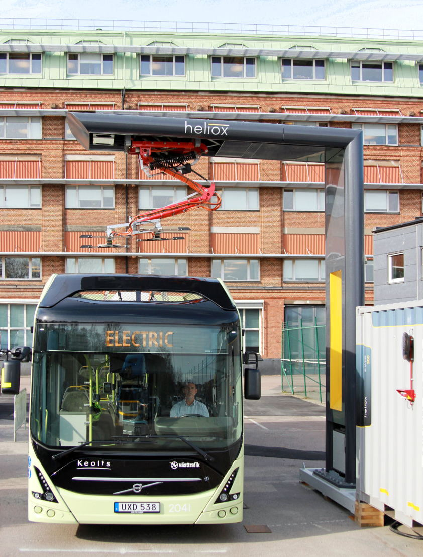 Electric bus Volvo, © Heliox
