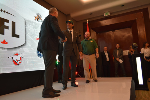 27 PLAYERS SELECTED IN THE FIRST CFL-LFA DRAFT IN MEXICO CITY