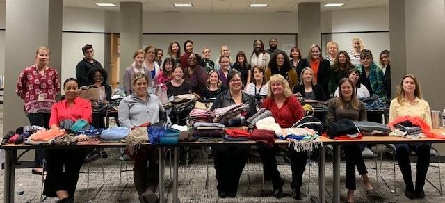 Volunteers Help Empower Women to Achieve Economic Independence