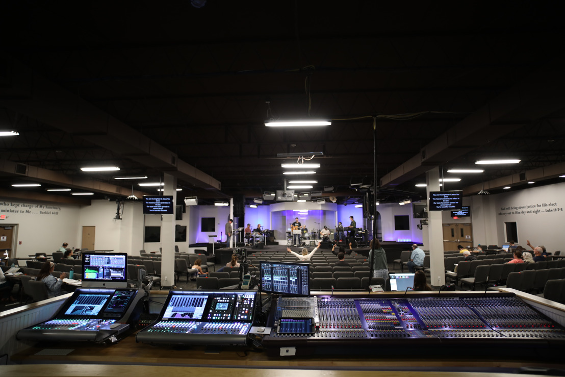 International House of Prayer of Kansas City Upgrades to Solid State Logic Live Series Consoles, Citing Superior Audio Quality and Networking Capabilities