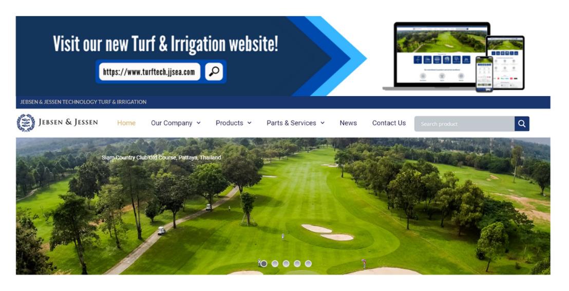 Jebsen & Jessen Technology Turf & Irrigation unveils new website