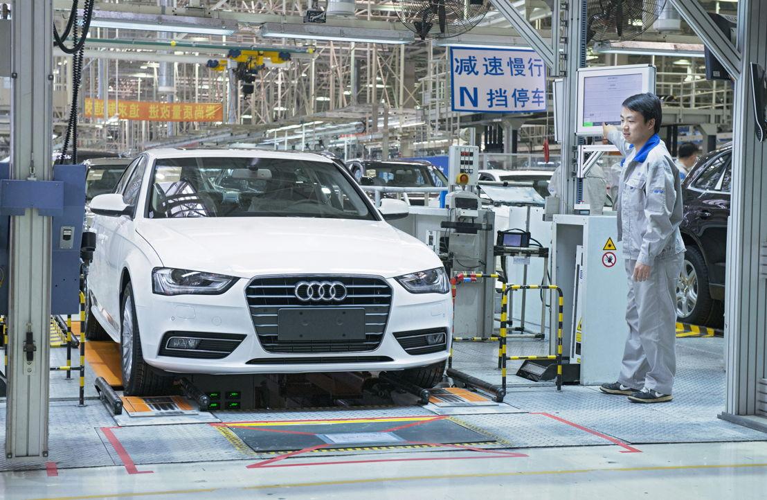 Audi location Changchun, China