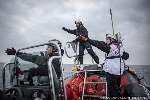 MSF: Broll & Update - Ocean Viking