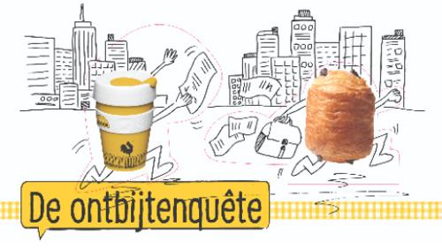 Belg ontbijt minder door tijdsgebrek (daling met 5%)