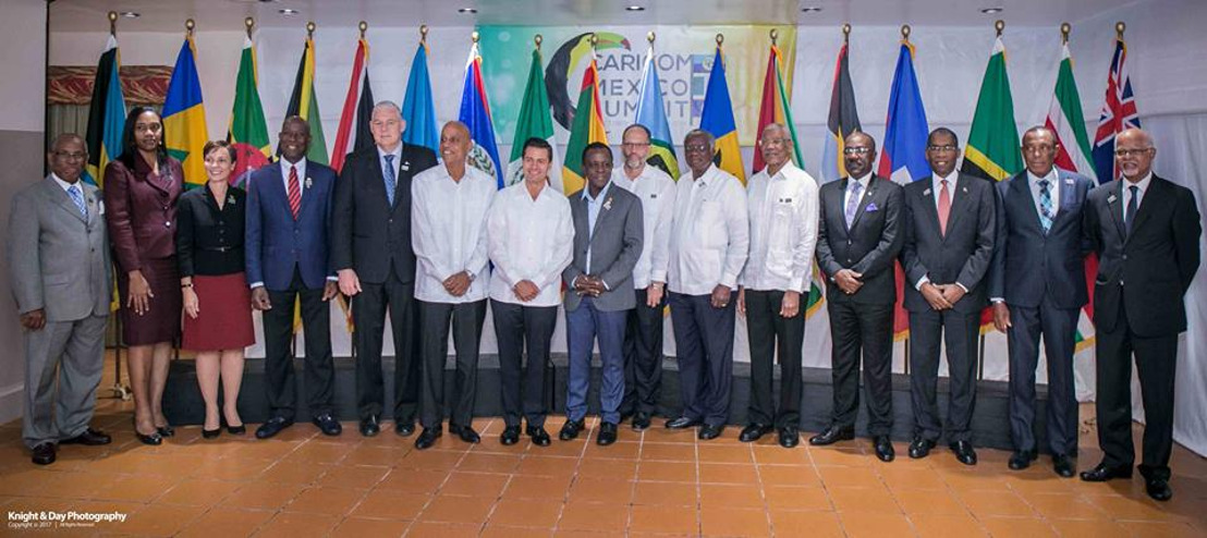 CARICOM and Mexico agree to strengthen ties in disaster risk management; other critical areas