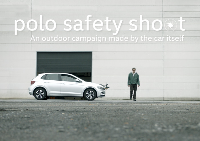 New Volkswagen Polo photographs its own outdoor campaign