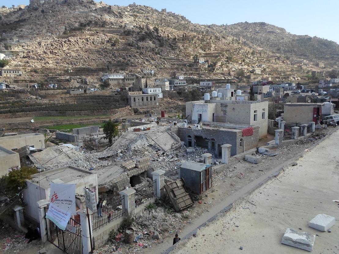 Yemen: sin responsabilidades ni rendición de cuentas tres años después del bombardeo de un hospital apoyado por MSF