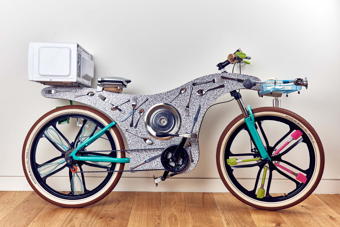 Up-cycled Bike 1
