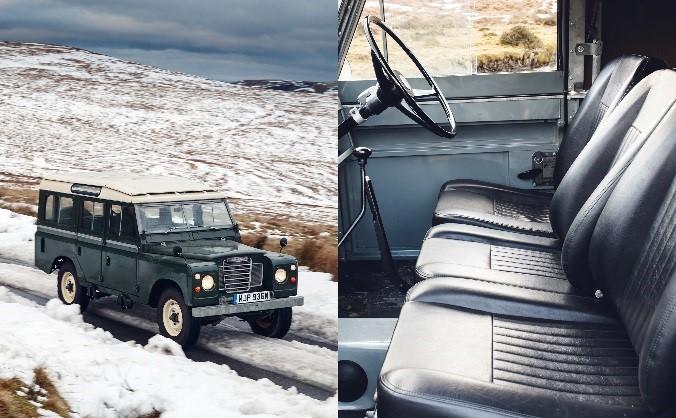 1971 - Land Rover Series III (Elephant Hide Grey Vinyl)