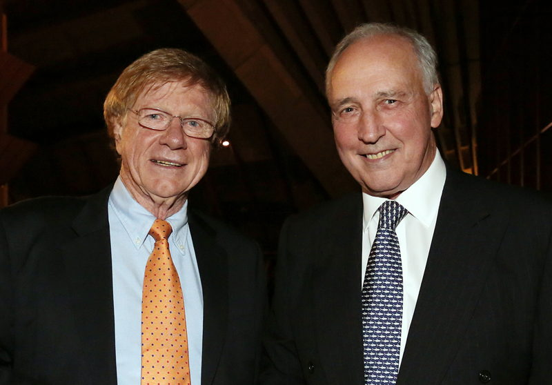 Kerry O'Brien & Paul Keating (credit: Prudence Upton)