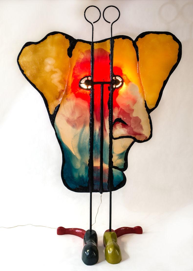 Gaetano Pesce: Friend Lamp at The Peninsula Chicago