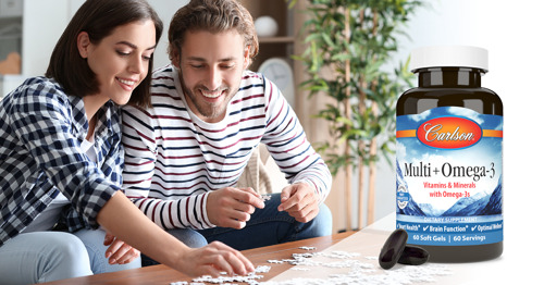 Preview: Carlson Introduces Multi + Omega-3, with Vitamins, Minerals, and Omega-3s