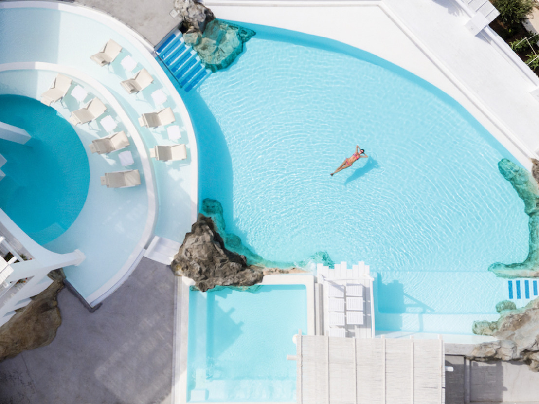 Top 3 Greek Hotel Pools to Cool Off in This Summer