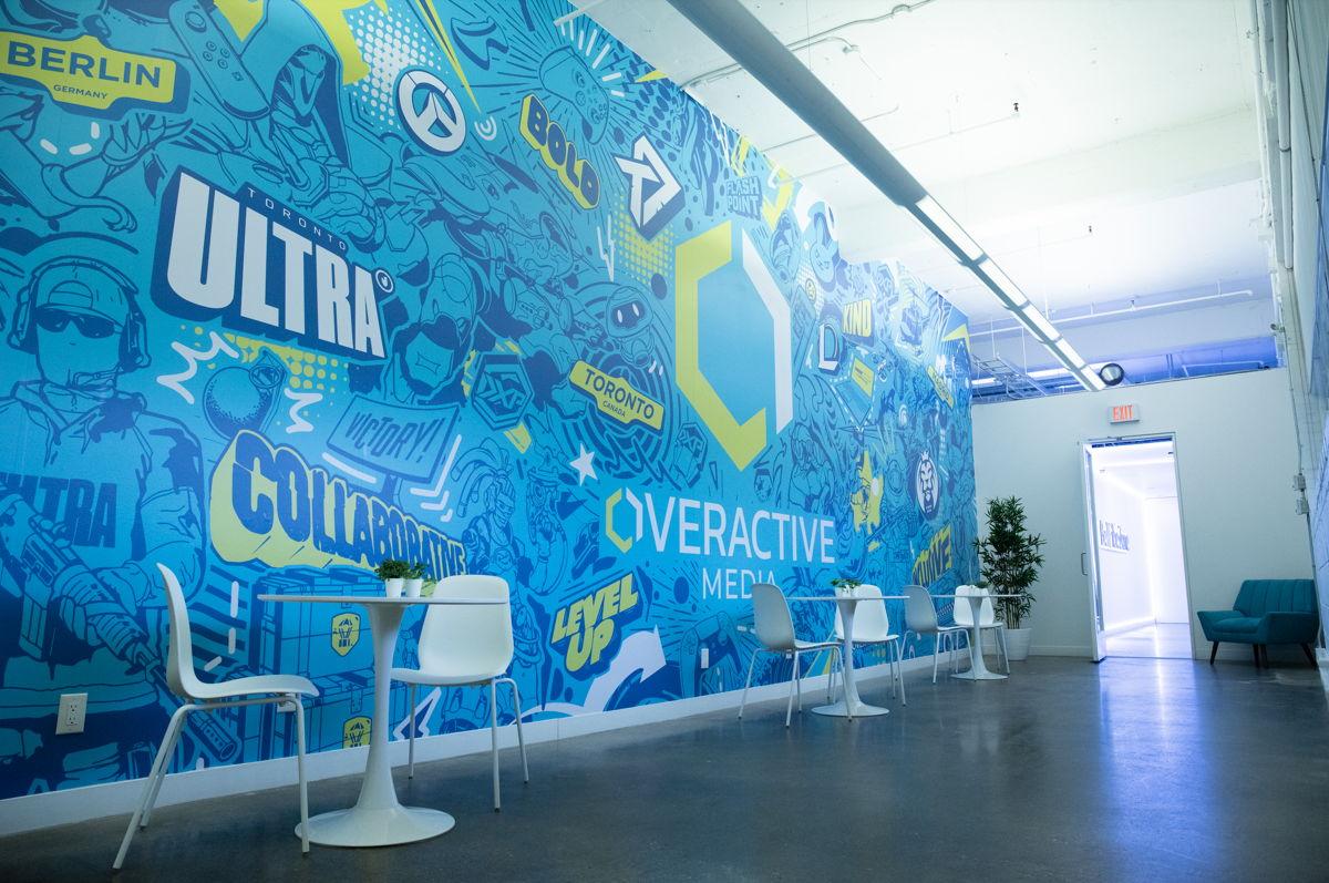 OverActive Media HQ Lobby