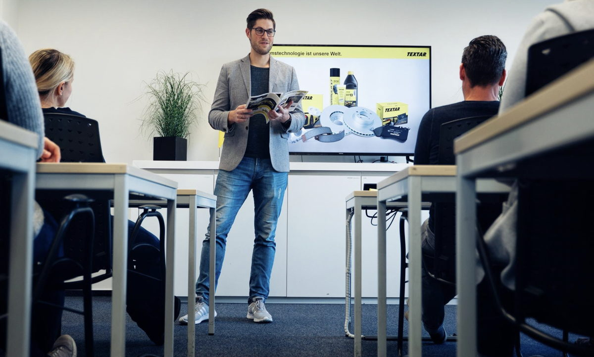 Formation interne chez TMD Friction