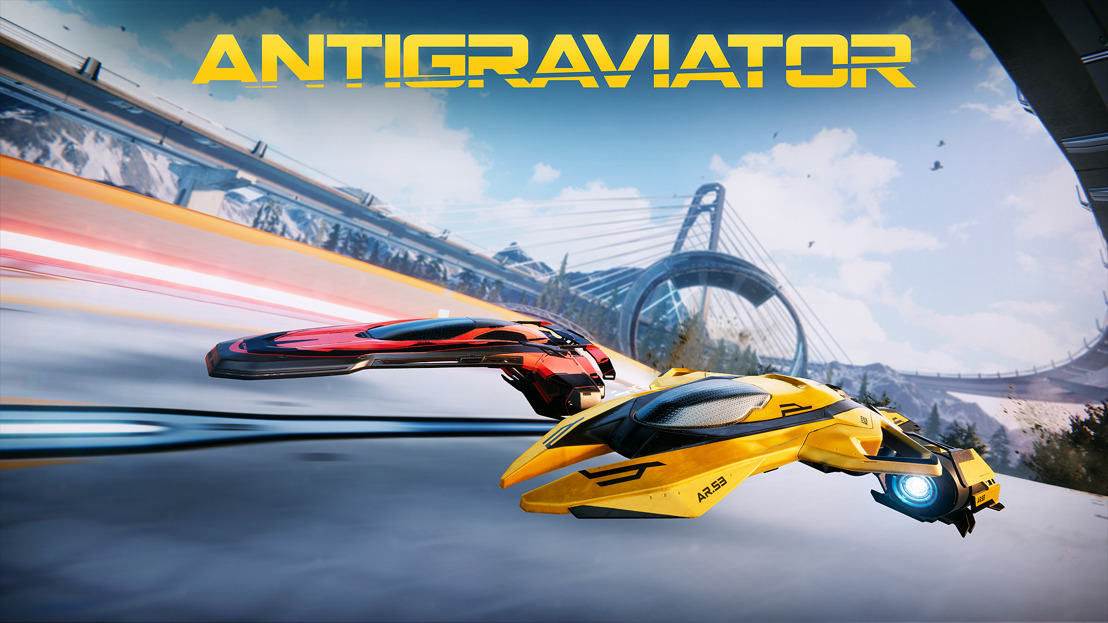 🎮Out TODAY on Xbox One! Futuristic Racer Antigraviator!🌠