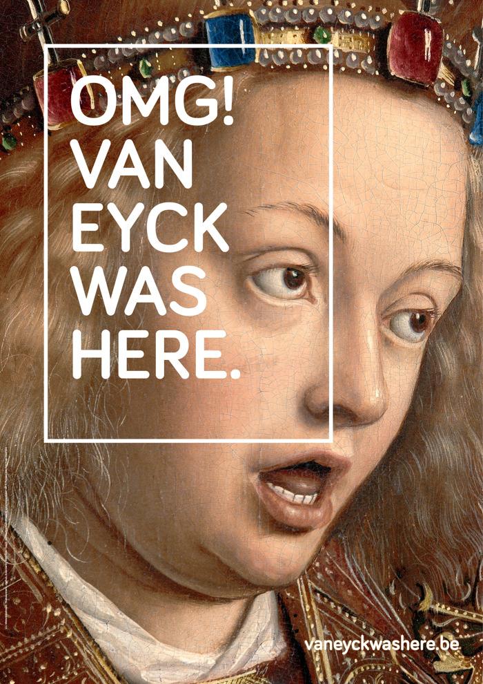 The Oval Office creatief voor Stad Gent met OMG! Van Eyck was here