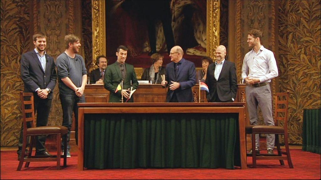 Het Groot Dictee - De finalisten - (c) Men at work / VRT