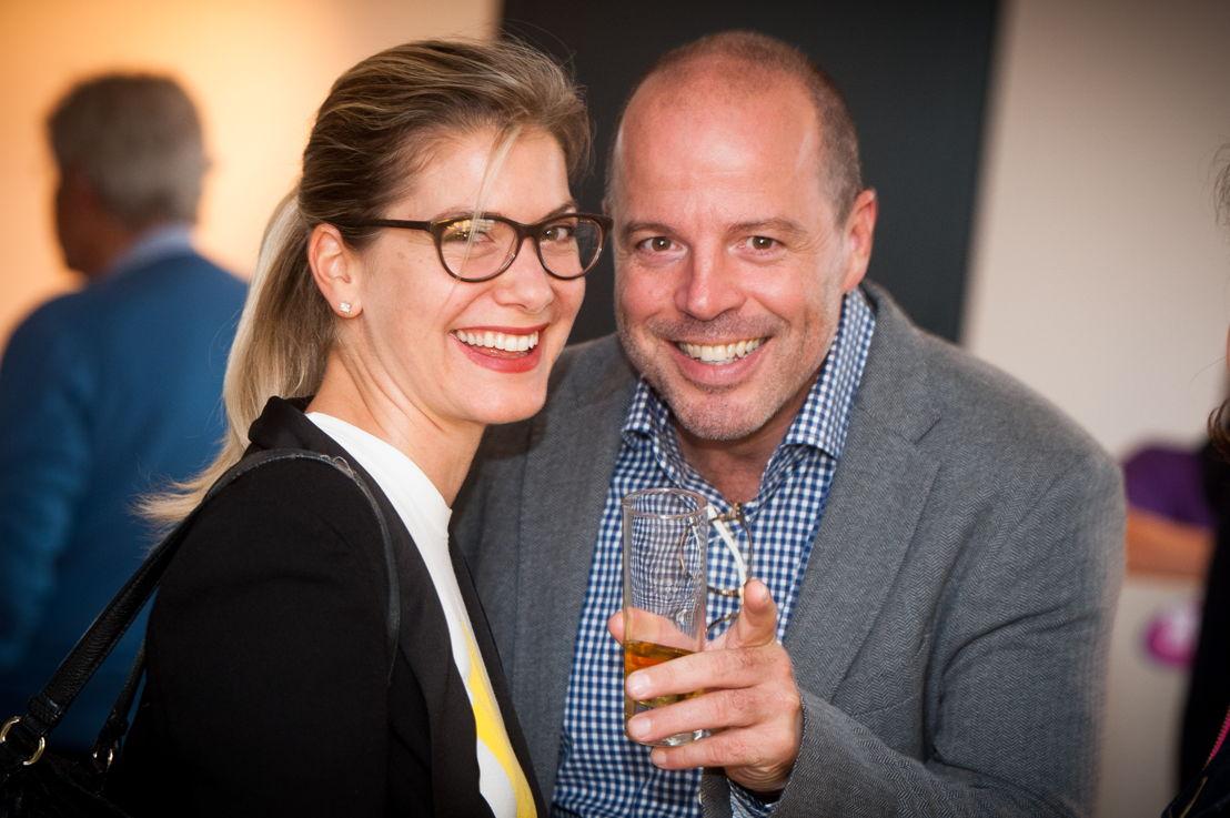 Julie Cruyt (Coach) et Bruno Wattenbergh (juge)