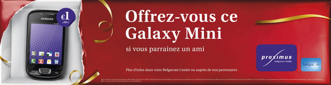 Outdoor - Promo smart phone Samsung Galaxy Mini