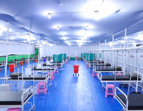 Médicos Sin Fronteras abre un centro de tratamiento de COVID-19 de 100 camas en Bihar, India