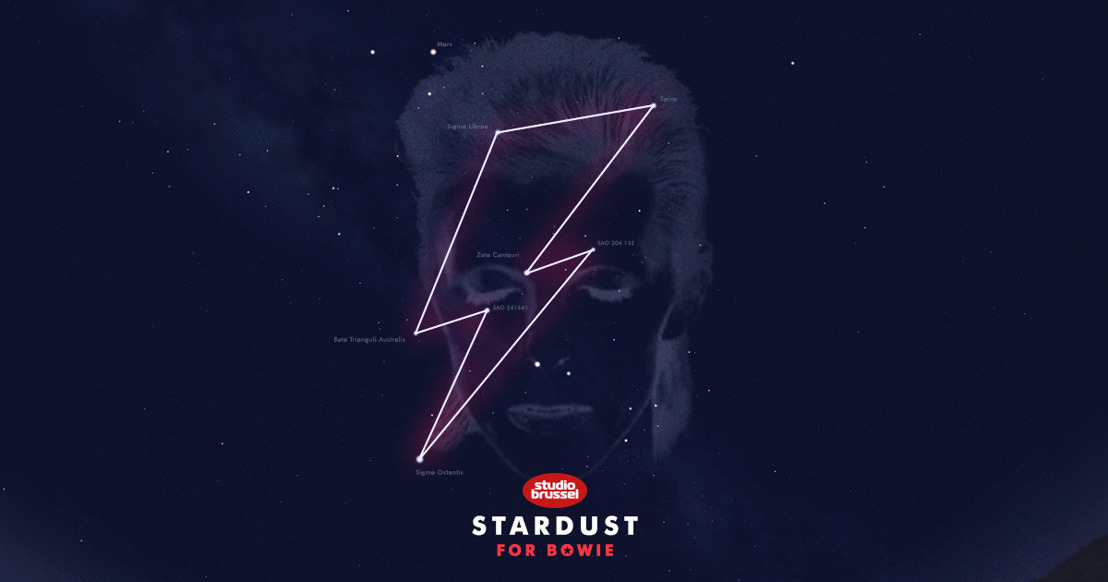 Belgians give 'Starman' Bowie own constellation