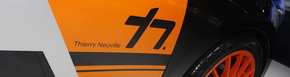 Un look sportif pour la i20 grâce au kit 'Thierry Neuville'