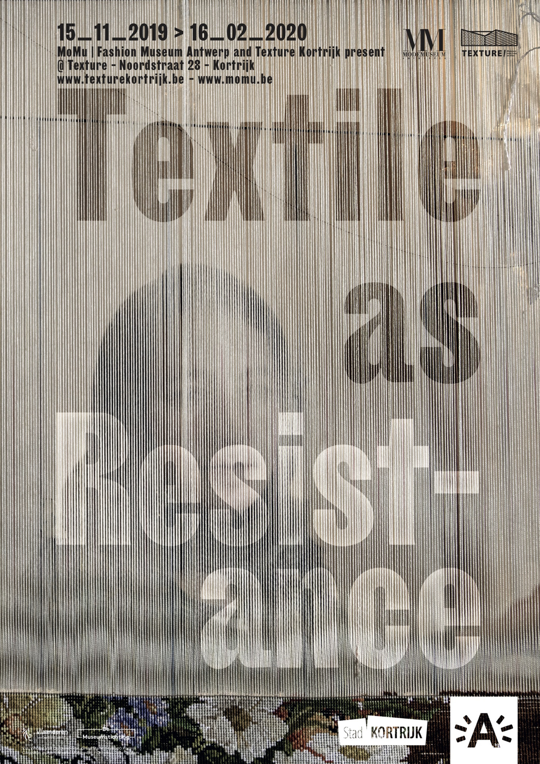 MoMu and Texture Kortrijk present 'Textile as Resistance'