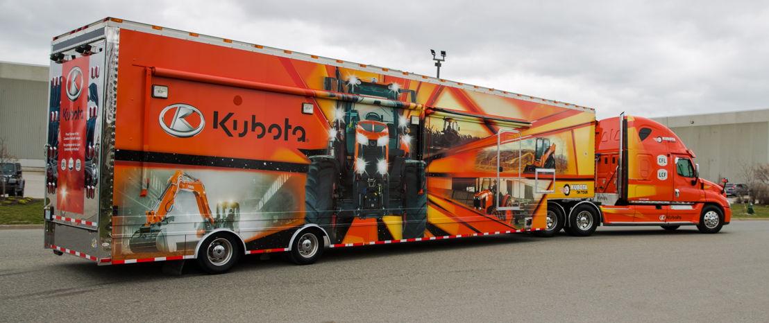 Un véhicule Kubota (Crédit : Paul Gauthier)