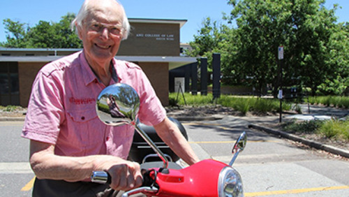 70-year career draws to an end for Professor Peter Bailey