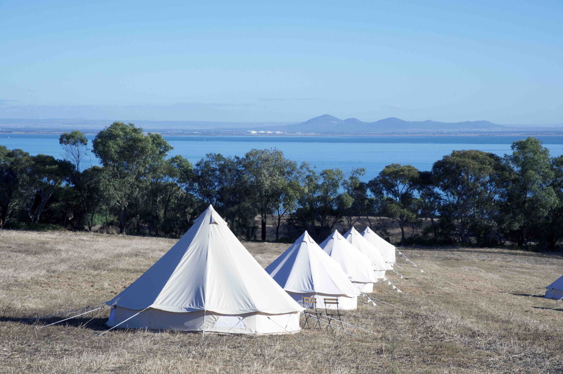 Glamp Amongst The Vines and Wake Up To The Bay Views at Terindah Estate