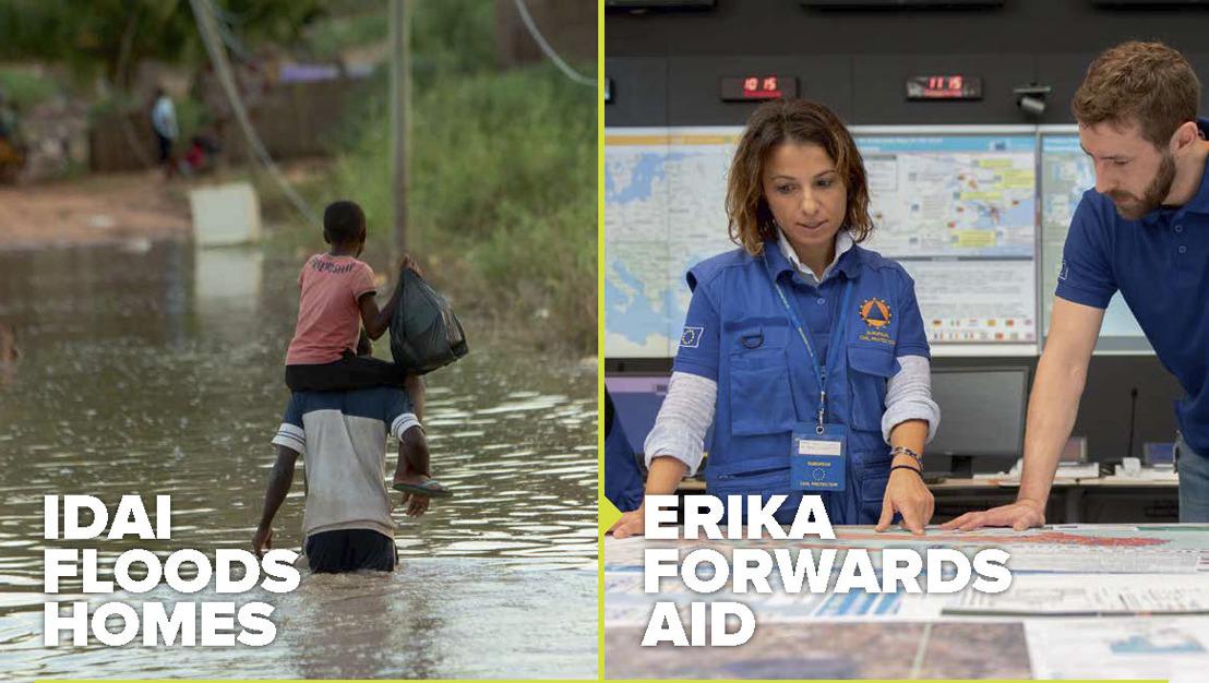 L'UE apporte de l'aide humanitaire ; AIR et ICF Next lancent une campagne